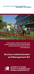 Business Administration and Management BA - English brochure