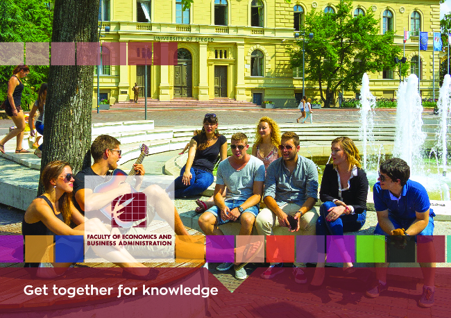 Informational brochure of the Faculty of Economics and Business Administration