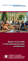 Master of Arts (MA) in International Economy and Business