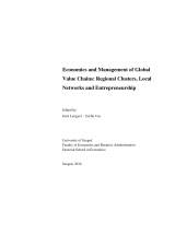 Economics and Management of Global Value Chains: Regional Clusters, Local Networks and Entrepreneurship